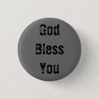 God Bless You - Customized - Customized 3 Cm Round Badge