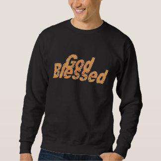 God Blessed 2 Orange clair ombré Sweatshirt