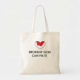 God Can Fix It Tote Bag