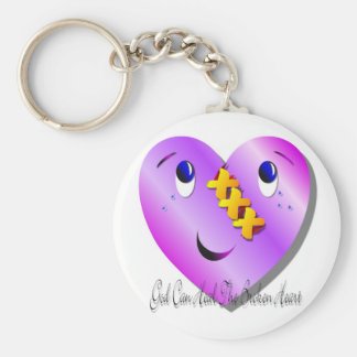 God Can Heal Keychain