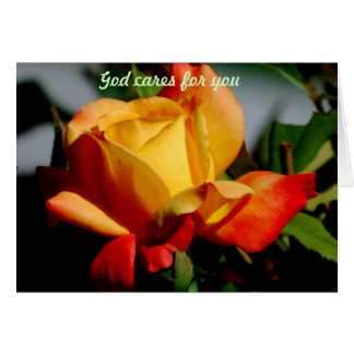 God cares for you card