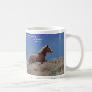 God created Horse Coffee Mug