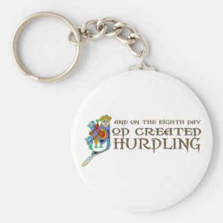 God Created Hurdling Key Ring