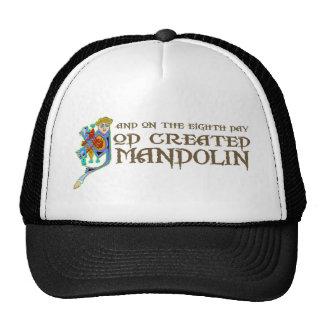 God Created Mandolin Trucker Hat