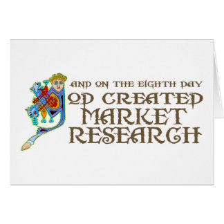 God Created Market Research Card