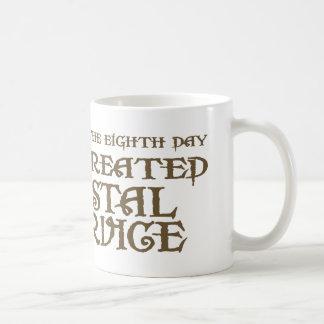 God Created Postal Service Mug