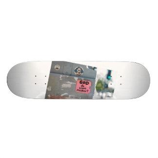 God do lives matter by Adam Battaglia (ft. Sheep) 20.6 Cm Skateboard Deck