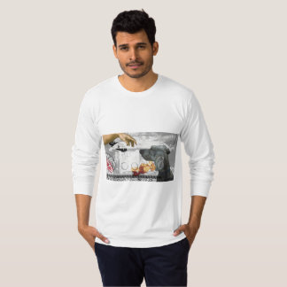 GOD DOG WEIM MEN'S FINE JERSEY LONG SLEEVE T-SHIRT