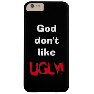 """God don't like UGLY!"" Black Device Cover"
