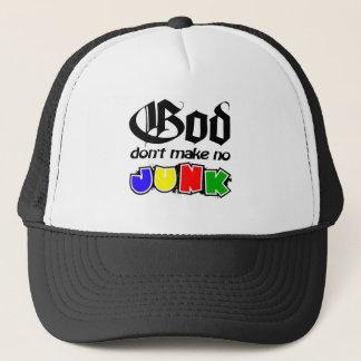 God Don't Make No Junk Trucker Hat
