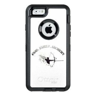 God. Family. Archery Iphone 6 cell phone case