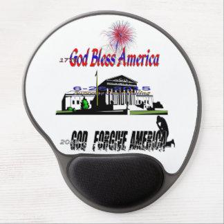 God forgive America Gel Mouse Pad