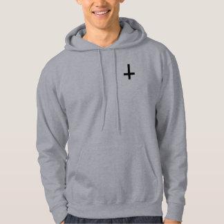 GOD FREE Inverted Cross Hoodie. Hoodie