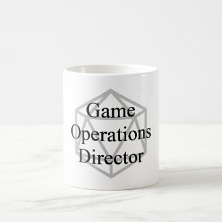 GOD (Game Operations Director) Mug