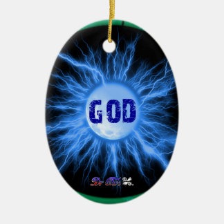 GOD GIFTS CUSTOMIZABLE PRODUCTS CHRISTMAS TREE ORNAMENT