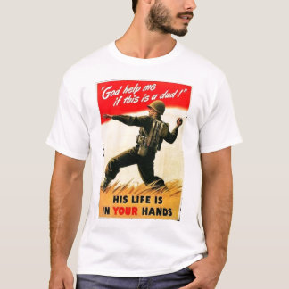 God Help Me WW1 Propaganda T-Shirt