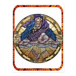 GOD HOLY SPIRIT CATHOLIC GIFTS CUSTOMIZABLE PRODUC POSTCARD