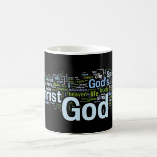 God In Words Mug