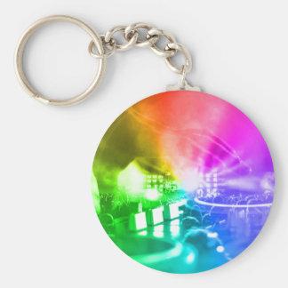 God is a DJ Key Ring