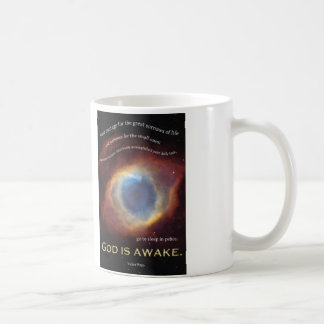 God is Awake Mug