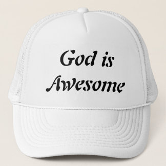God is awesome cap