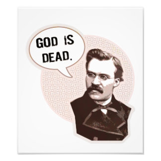 God is dead (Nietzsche) Photographic Print