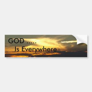 GOD Is Everywhere Bumper Sticker