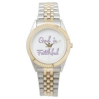 God is Faithful Ladies Watch