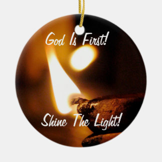 God Is First! Ornament