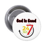 God Is Good 247 button