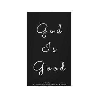 God Is Good Canvas Print