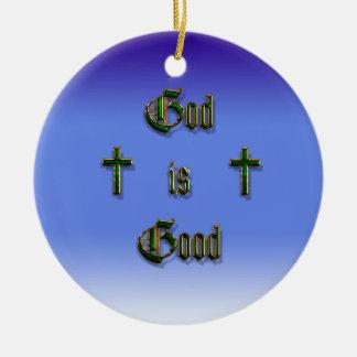 God is Good Christmas Ornaments