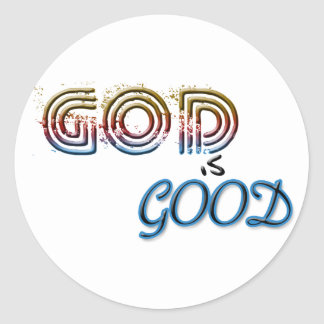 God is Good Stickers