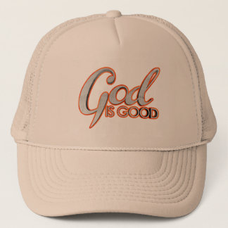 God Is Good Trucker Hat