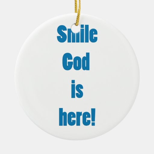 God is hee ornament
