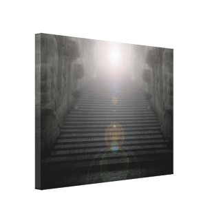 God Is Light Gallery Wrapped Canvas