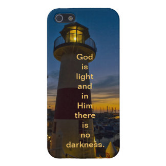 God is Light - Lighthouse iPhone 5/5S Cases