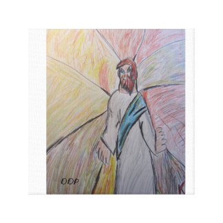 God is light two stretched canvas prints