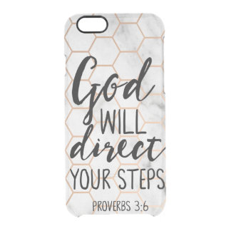 God Is Love 1 John 4 16 Lord Jesus Bible Quotes Clear iPhone 6/6S Case