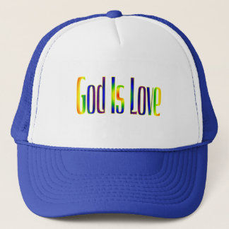 God Is Love Trucker Hat