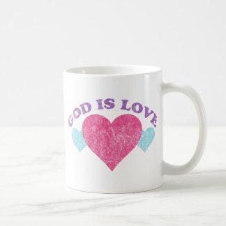 God Is Love Vintage Coffee Mugs