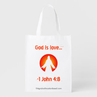 God is Love Market Totes