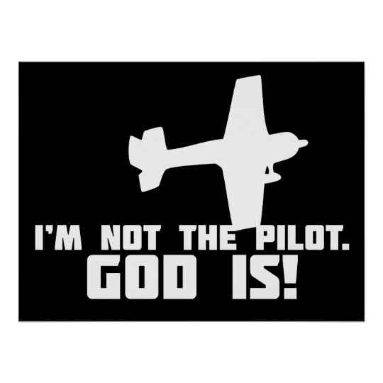 God is My Pilot Poster