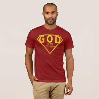 God is My Strength T-Shirt