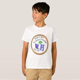 God is My Wireless Provider Phil 4:19 T-Shirt