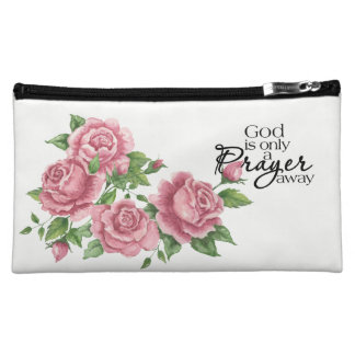 God Is Only A Prayer Away Cosmetic Bag