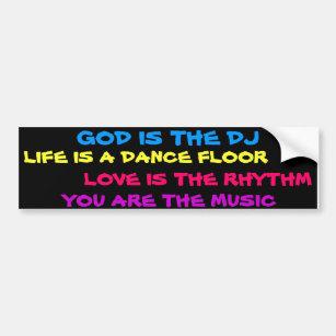 Music Dj Bumper Stickers - Car Stickers | Zazzle com au