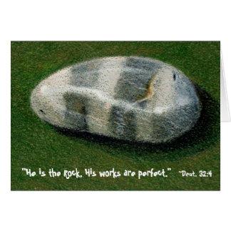 GOD IS THE ROCK (ART CARD) CARD