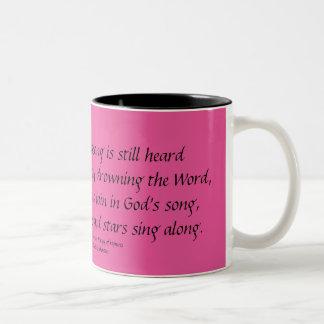 GOD IS THE SINGER Verse 4 Mug Stephanie Hutchinson