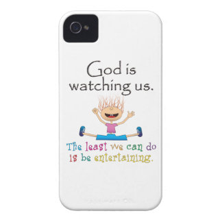 God Is Watching Us for Blackberry iPhone 4 Cover